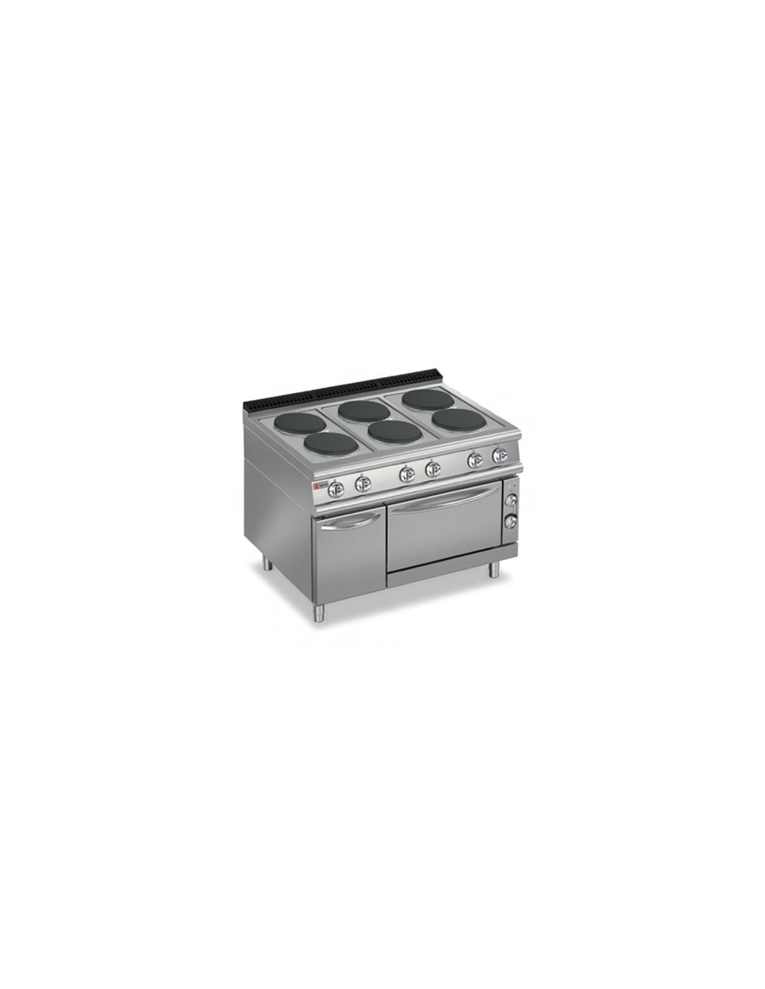 Cocina industrial el ctrica con horno - Cocina con horno ...