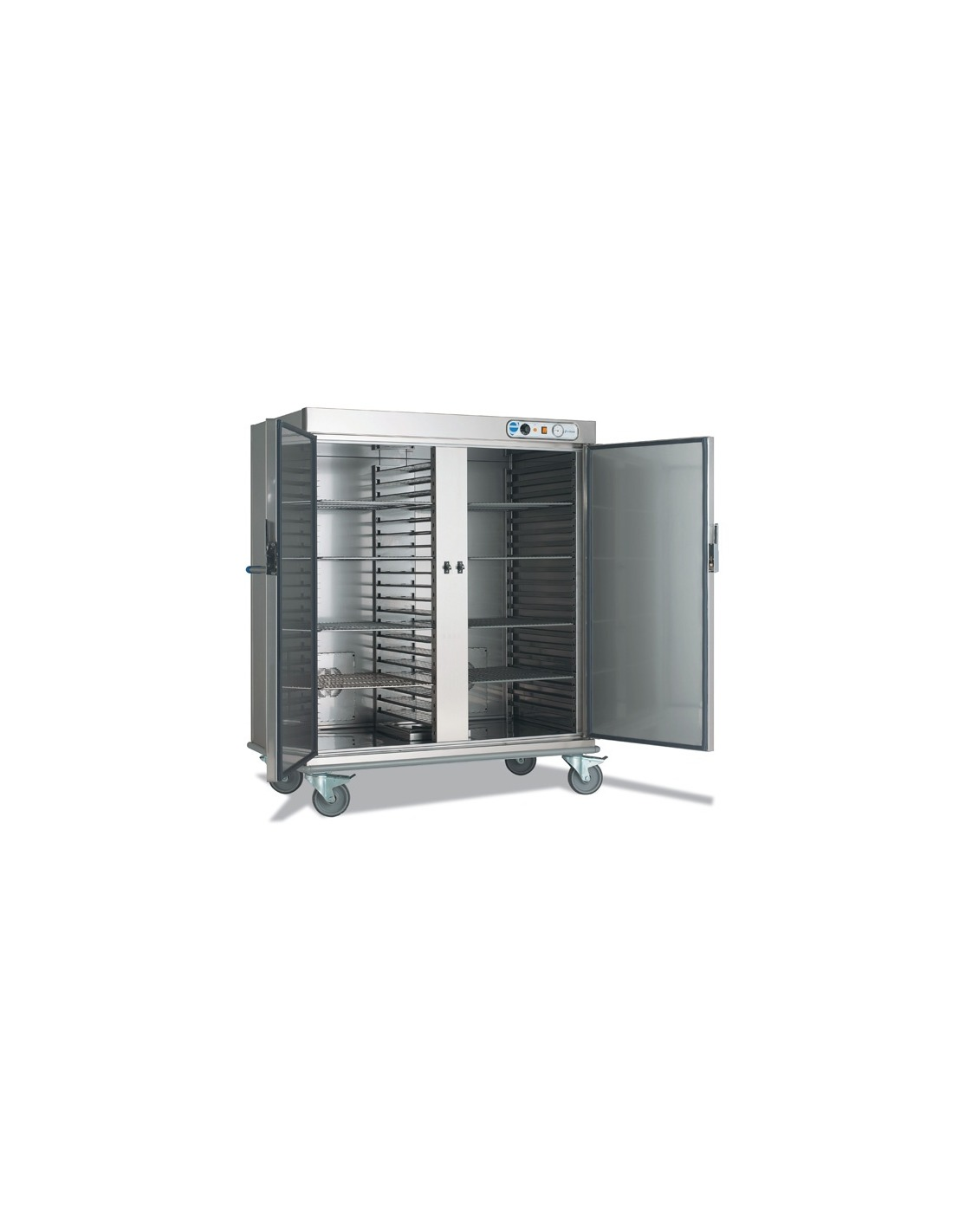 Carro caliente 2 puertas for Puertas para cocinas industriales