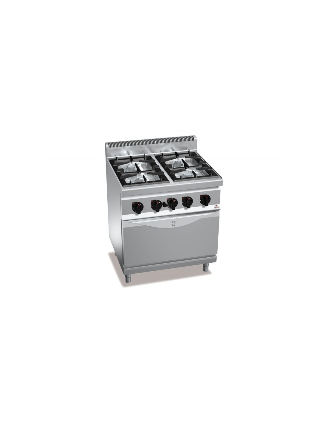 Cocina 4 fuegos a gas con horno convecci n for Accesorios para cocina a gas