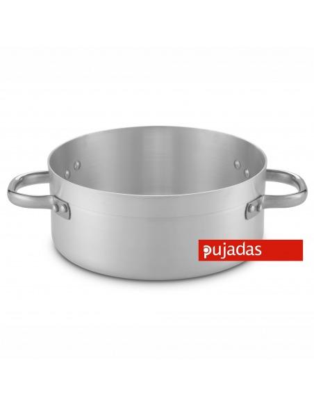 Cacerola baja para cocina industrial en aluminio