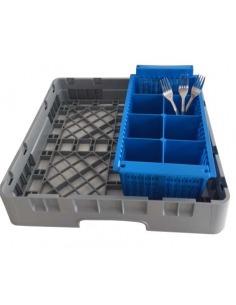 Media cesta suplementaria para cubiertos