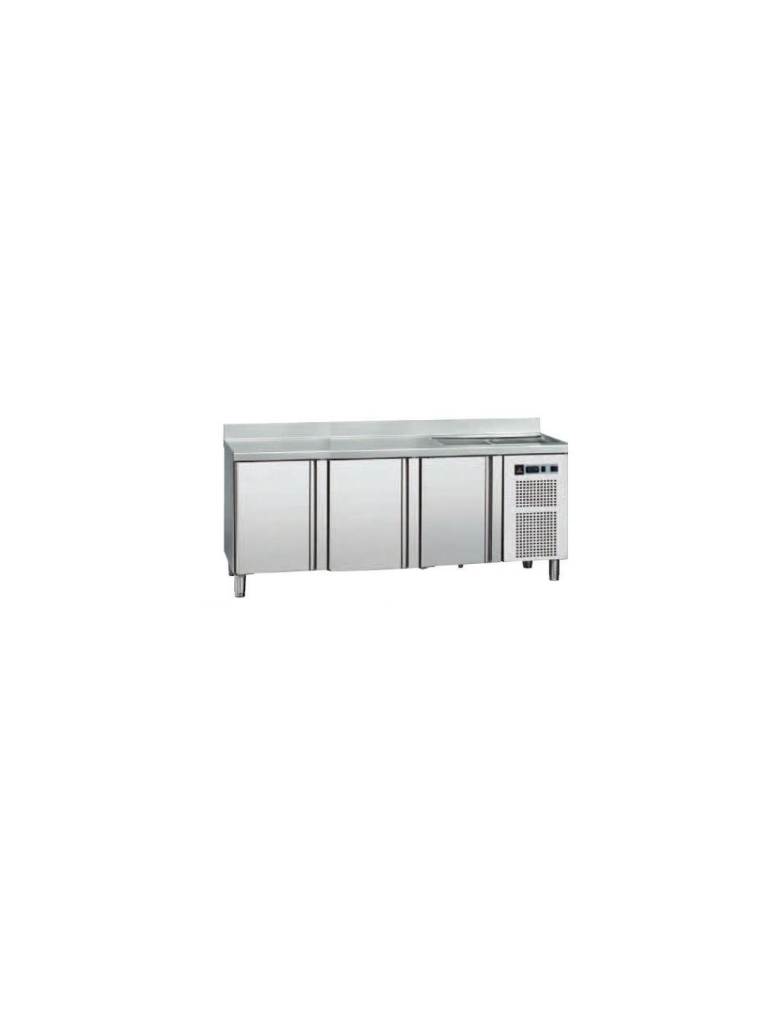 Mesa refrigerada fagor cms200f for Mesas con puertas