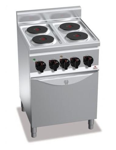 Cocina industrial electrica con horno for Cocina industrial electrica