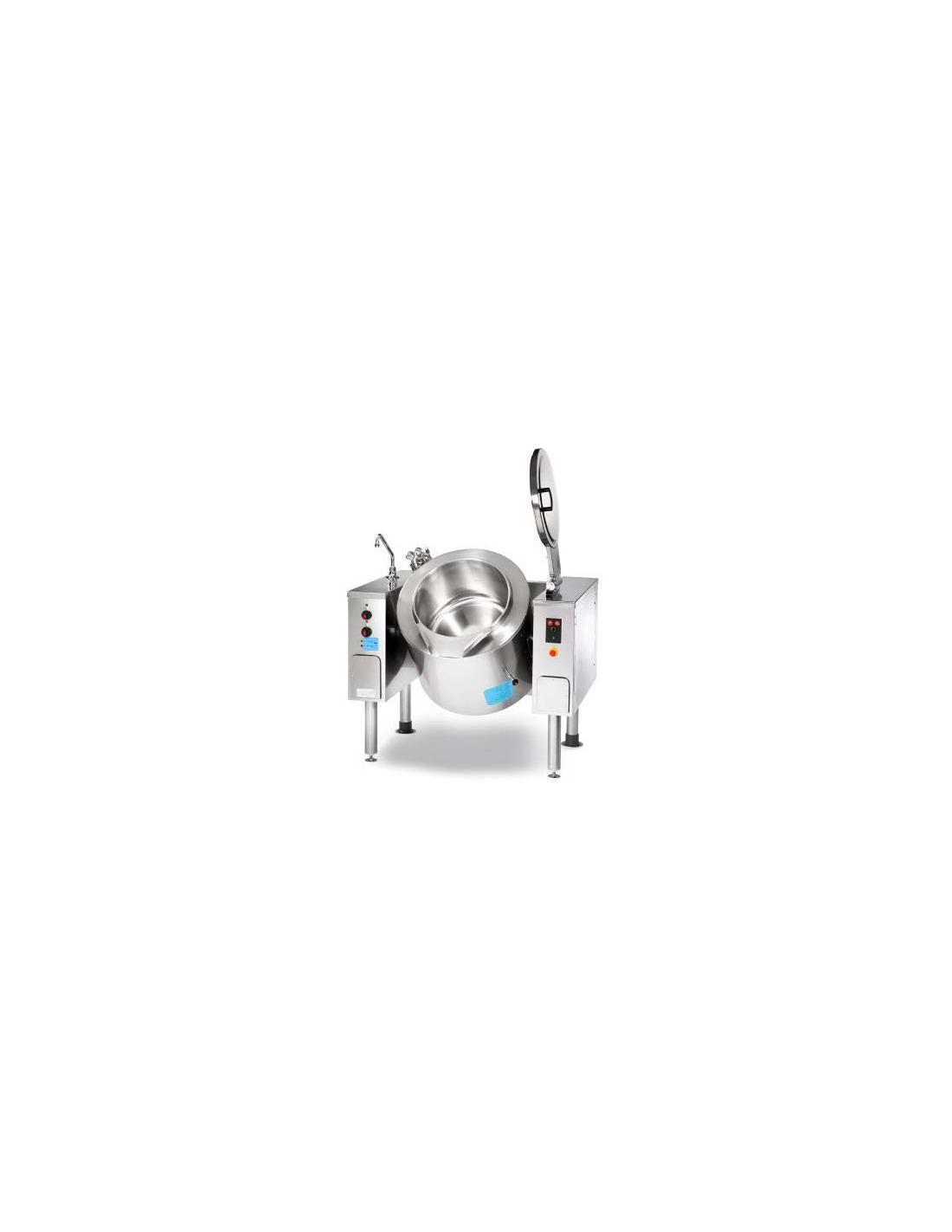 Marmitas basculantes de 100, 150, 215 y 300 litros vapor indirecta