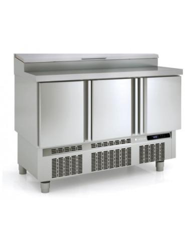 Mesa fr a para ensaladas 3 puertas - Mesa fria ingredientes ...