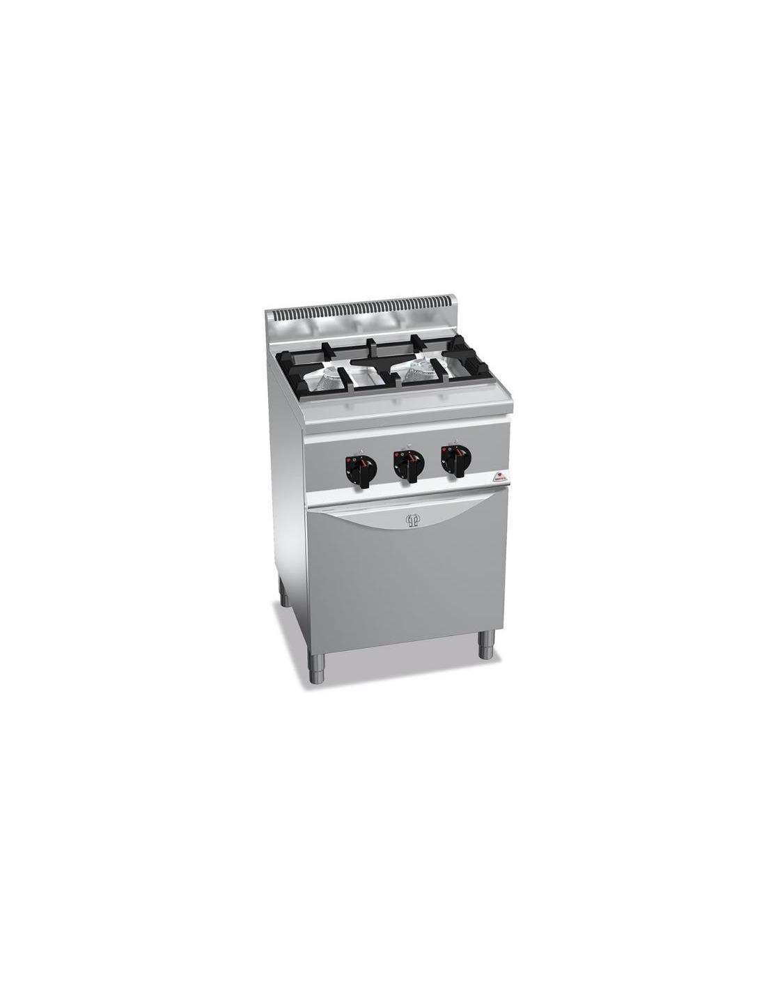 Cocina industrial de 2 fuegos restaurante con horno - Cocinas industriales de gas ...