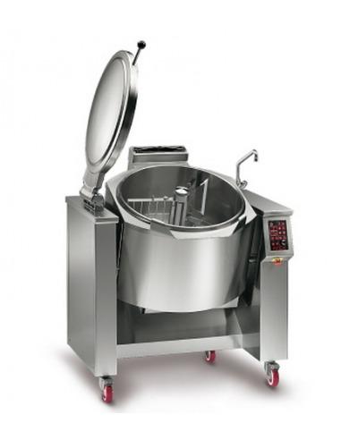 Sarten basculante redonda 70 litros el ctrcas for Sartenes industriales