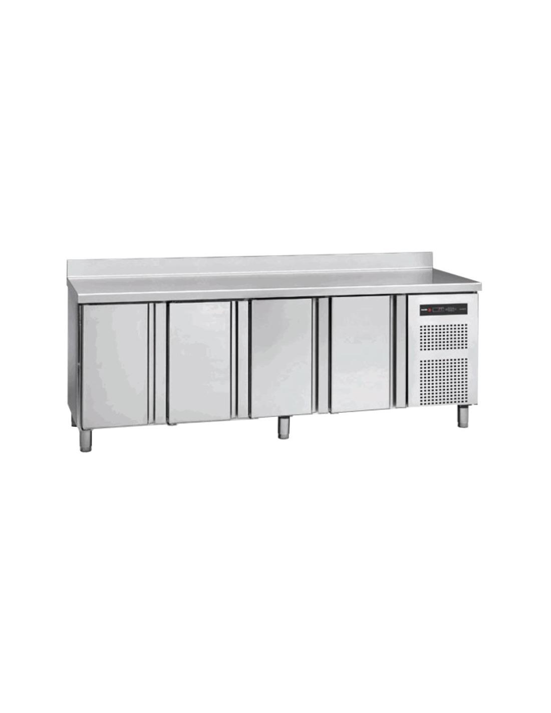 Mesa fr a bajomostrador 4 puertas for Puerta cocina industrial