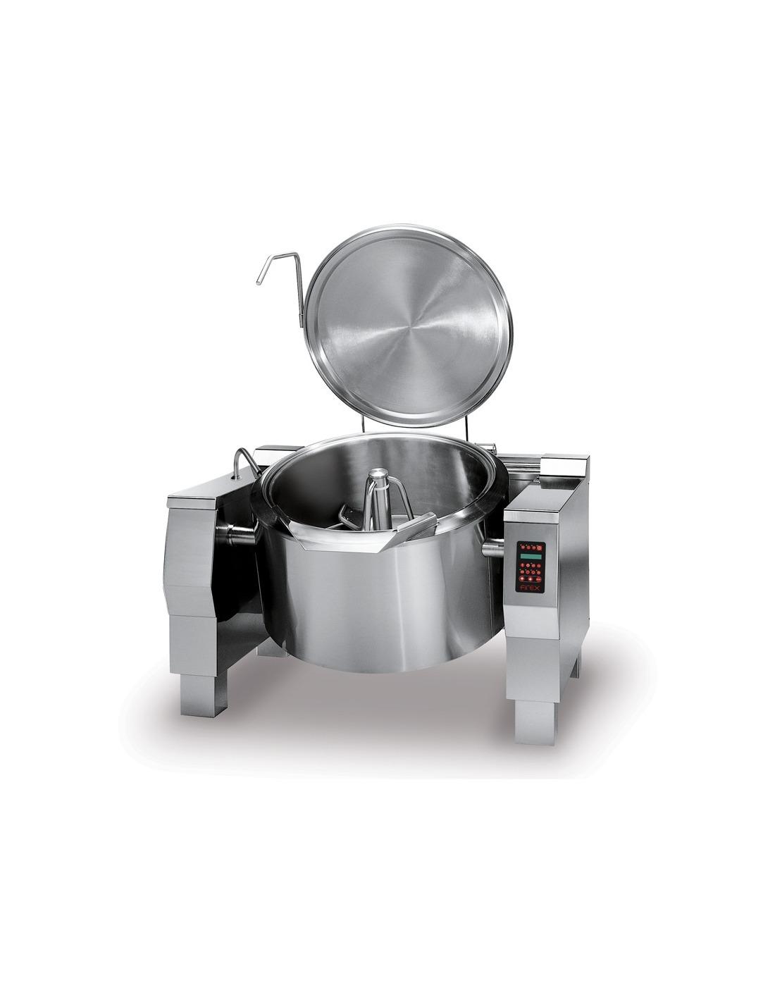 Sartenes redondas a presi n 90 130 180 310 litros for Sartenes industriales