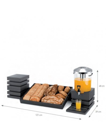 Cubic - Conjunto buffet desayuno