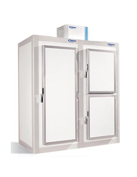 Armario de refrigeración gran capacidad de panel sandwich