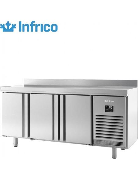 Infrico - Mesa refrigerada hostelería 3 puertas