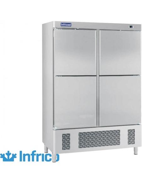 Infrico - Armario refrigerado 4 puertas