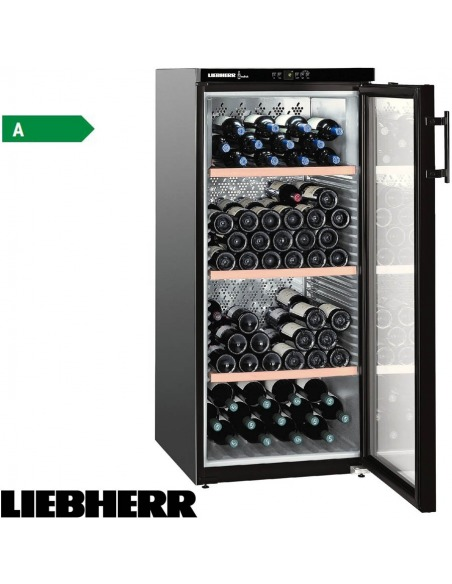 Vinothek - Vinoteca 164 botellas puerta cristal