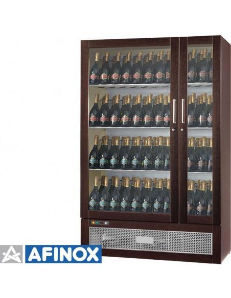 Vinoteca Talento 141 botellas, 2 temperaturas