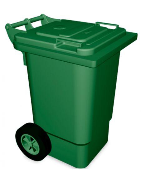 Cubo basura con ruedas 120 litros