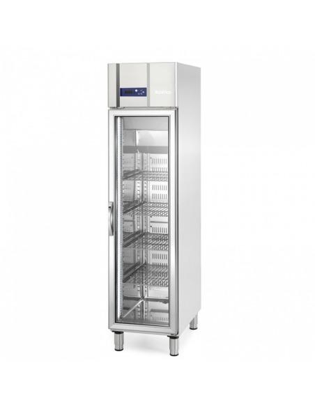 Armario refrigeración 325 litros puerta cristal
