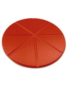Plato pizza de polietileno