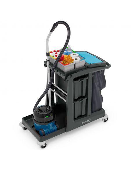 VersaCare ECO-MATIC EM5   Carro de limpieza
