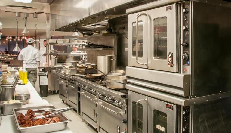 cocina de restaurnte