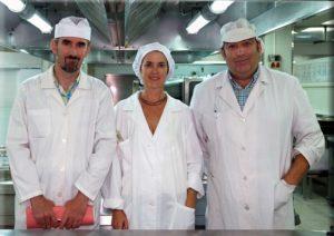 Luis Eduardo Montes, Irene Lloret y Miguel A. López